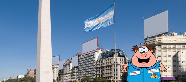 cover II -argentinian flag